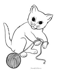 You can print or color them online at getdrawings.com for absolutely free. Cat Coloring Pages Free And Printable