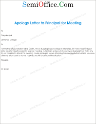 Apologized For No Attend In School Guardian Meeting