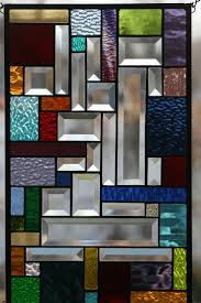 stained glass window panel design