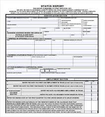 Sample Weekly Status Report Template Sample Weekly Status Report 7 Documents In Pdf Word