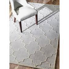 nuloom contemporary trellis wool silver rug amazing gray extraordinay 6