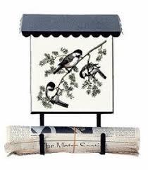 vertical wall mount mailbox. Bacova Gardens 10006 Chickadees Vertical Wall Mounted Mailbox Mount L