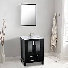 vanity and sink combo. Interesting And Eclife 24u0026quot Modern Bathroom Vanity Sink Combo With Overflow Ceramic  Top U0026 MDF Stand For And