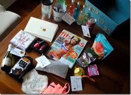 bachelorette party gift basket items