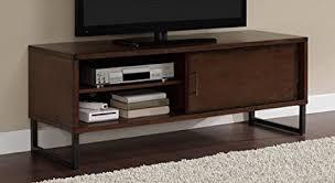 entertainment center for 50 inch tv. Breckenridge Walnut 50-inch Flat Screen TV Stand Media Storage Cabinet Entertainment Center With Sliding For 50 Inch Tv N
