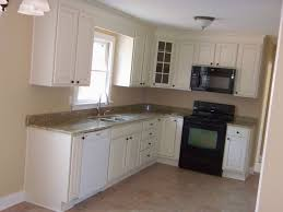 L Shaped Kitchen Layout Captivating L Shaped Kitchen Layout With Mdf Storage Units And