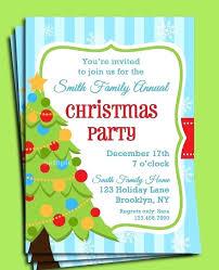 Christmas Party Invitations Examples Tinajoathome