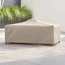 Image Quilted Barra Coffee Table Cover Hammacher Schlemmer Outdoor Patio Furniture Covers Crate And Barrel