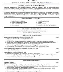 Actuary Resume This Is Professional Looking Resume Best Actuary Resume Pictures 42