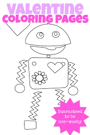 Small Picture 3 Non Mushy Valentines Day Coloring Pages