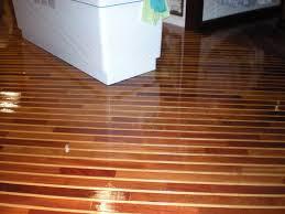 cork flooring under kitchen cabinets