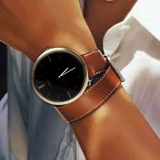 kr net double wrap tour leather watch strap band for moto 360 2nd 2016 women