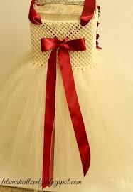 diy flower girl dress or tutu dress