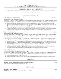 Supervisor Objective For Resume Business Management Resume Objectives 71