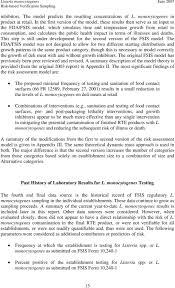 Fsis Organizational Chart Fsis Risk Assessment For Risk Based Verification Sampling Of
