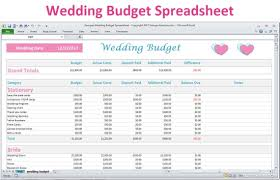 Wedding Budget Magdalene Project Org