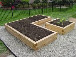 cedar timbers raised beds