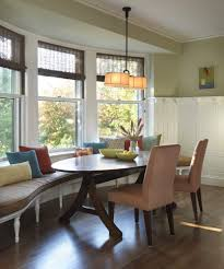 Banquette Bench Kitchen Banquette Bench Kitchen Midcentury With Corner Window Green Dining