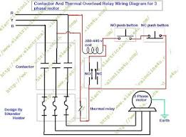 how to wire contactor and overload relay contactor wiring how to wire contactor and overload relay contactor wiring diagram for three