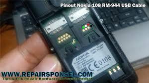 nokia 108. pinout nokia 108 rm-944 usb cable