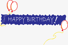 Banner Birthday Happy Birthday Banner Birthday Clipart Banner Clipart Banner Png