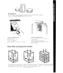How Does A Trash Compactor Work Page 5 Of Whirlpool Trash Compactor Tf 8500 Series User Guide