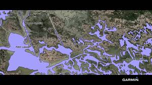 Bluechart G2 Maps The Louisiana Bayou With High Res Satellite Imagery