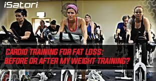 cardio for fat loss before or after my weight isatori nutritional supplements