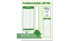 Fundraiser Tracking Spreadsheet Fundraiser Tracking Spreadsheet Donation Tracker For Excel With