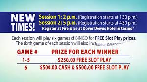 Bingo Returns To Dover Downs Hotel Casino August 29 2018