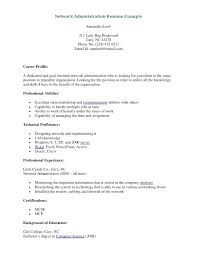 No Work Experience Resume Template Entry Level Resume Examples
