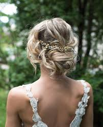 this beautiful gold tone hair vine flower crown or hair wrap is a lovely finishing touch for the boho chic bride gold tone metal flowers and leaves with