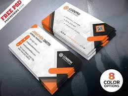 Free Psd Business Card Templates 15 Free Printable Business Card Templates Psd 2018