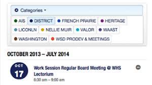 Calendar 2013 Through 2015 Woodburn School District Calendars