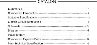 2 Way Radio Frequency Chart Kongtop 10wt0001 Two Way Radio User Manual