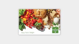 the fresh market gift card