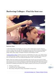 Designer Barber And Stylist School Barbering Colleges Find The Best One By Sharon Gonzales