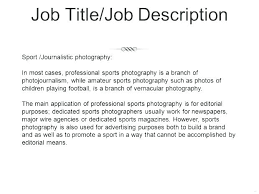 Photography Resume Sample Photography Resume Examples Photographer ...