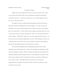 descriptive and narrative essay narrative descriptive essay writing