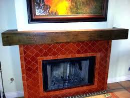 reclaimed wood fireplace mantel rough beam