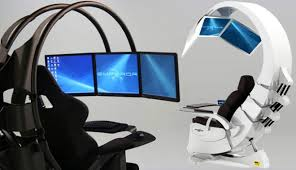 office chair futuristic cool computer chair. Future Cool: Control Pod, Launch Station Or My New Home Office? Office Chair Futuristic Cool Computer R