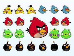 Rovio vector cartoons of the main characters in Angry Birds, the popular computer  game You can see four kinds…   Kinder schminken, Kinderschminken,  Faschingskostüme