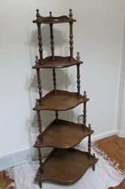 Corner Tiered Shelves Corner Shelf Vintage Wood 41 Tier Stand Assemble Required Corner 2