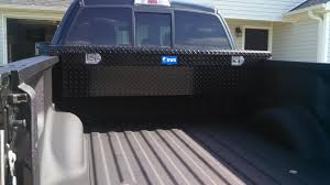 low profile truck tool box. which should fit most trucks, and hang down without touching the bed. there is also a much smaller \u201cslim\u201d option of this uws low profile tool box truck i