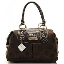 ... Coach Madison In Signature Medium Coffee Satchels Aay New Discount ...