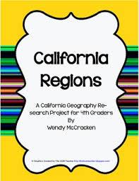 California Regions California Regions Poster Research Project