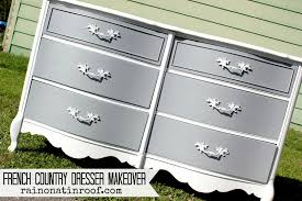 french country dresser makeover with homemade chalk paint rainonatinroof com frenchcountry