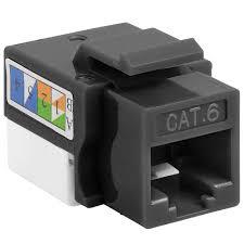 punch down keystone jack black Keystone Cat5e Wiring Diagram Wiring Diagram For Keystone 777 cat6 punch down keystone jack black