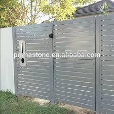<b>Aluminum</b> Privacy Fence <b>Modern Aluminum</b> Slat Privacy Fences ...