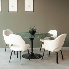 ... Beautiful Eero Saarinen Dining Set For Dining Room Decoration :  Fantastic Dining Room Decoration With Round ...